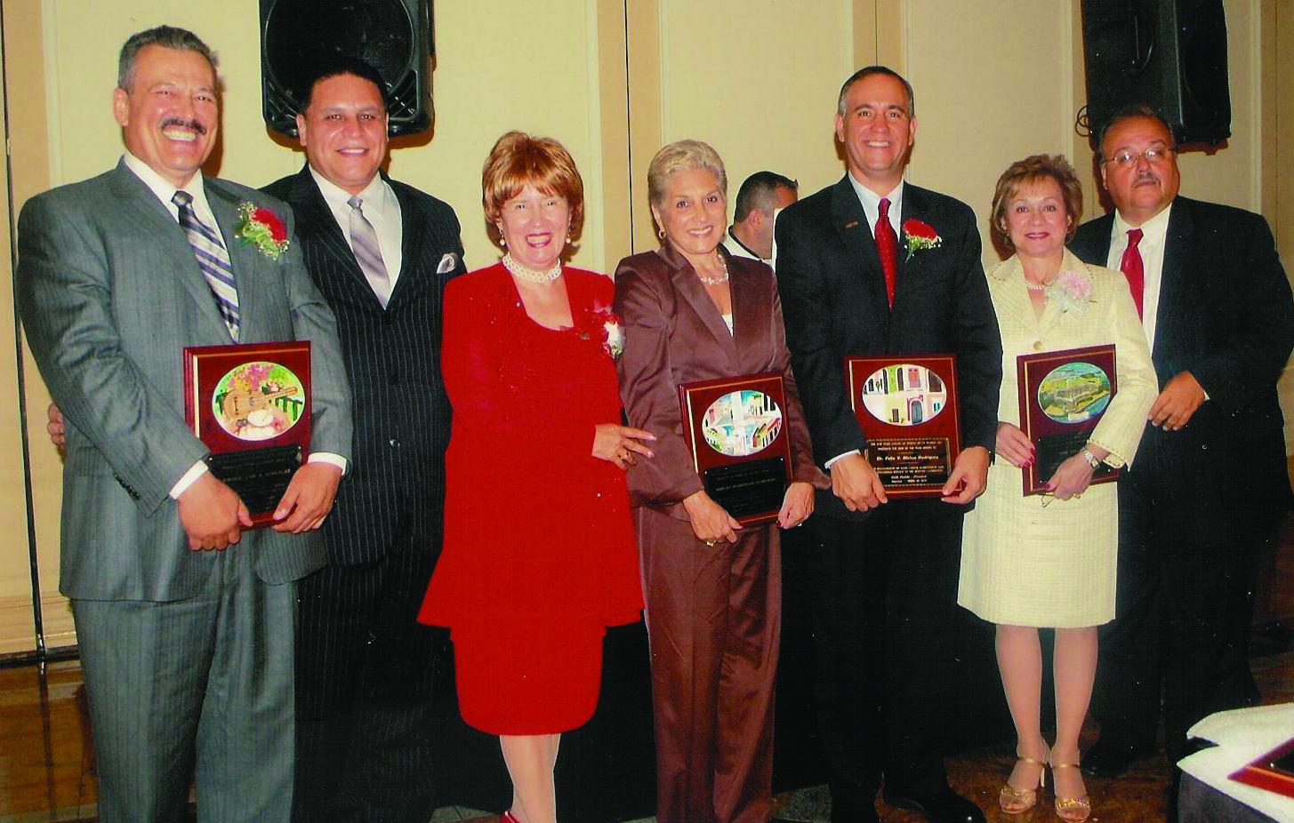 Edie and Honorees